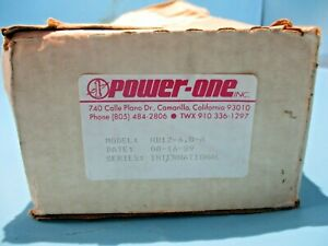 New Power one Hd12 6 8 a Power Supply