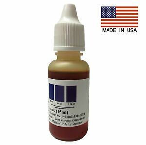Ph Test Liquid Drops A2o Water Testing Meter Food Chemical Alkaline Tester Test