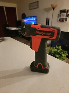 Snap On Tools 14 4v Cordless Screwdriver Gun With Battery