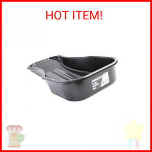 Low Profile Oil Change Drain Pan For Changing Oil Lawn Mower Tractor Motorcycle