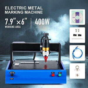 Electric Cutting Engraving Machine For Metal Plastics More 400w 7 9x6 Bed Thorx6