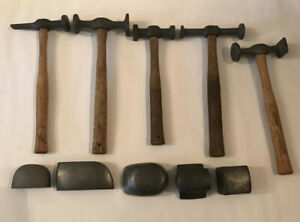 10 Piece Blue Point Craftsman Abc Auto Body Hammer And Dolly Lot Free Ship