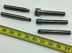 Solid Carbide Rivet Shavers 4 Sizes 1 2 Shank One Lot nwvid