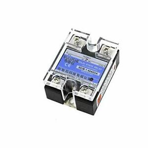 14840da 3 32v Dc To 24 480v Ac 40a Output Single Phase Ssr Solid State Relay