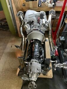 Complete Engine Trans Twin Turbo 6 0l Built Engine And 4l80e 66 77 Ford Bronco