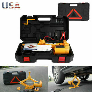 Electric Hydraulic Floor Jack Car Jack Lift 2 3ton 12v Dc Electric Impact Wrench