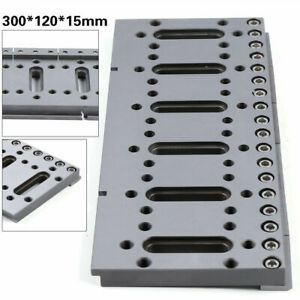 Wire Edm Tool Electrical Discharge Machine Fixture Board 300 120 15mm Stainless