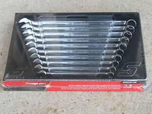 New Snap On Soexlm710b 10 Pc Flank Drive Plus Long Metric Wrench Set 10mm 19mm