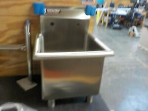 Stainless Steel Prep Utility Sink Durasteel 1 Compartment Commercial Kitchen