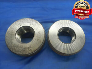 M30 X 3 5 6h Solid Thread Ring Gages 30 0 Go No Go P d s 27 727 27 515