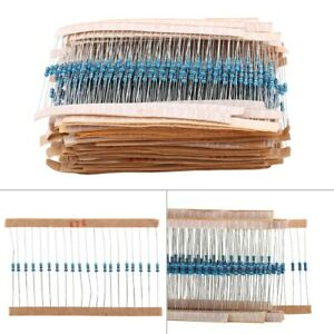 With Electronic Storage Box Component Metal Foil Metal Resistors 64 Different