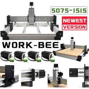 Newest Work bee Cnc Router Machine 4axis Work bee Cnc Mechanical Kit Engraver