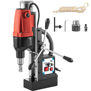 Vevor Magnetic Drill 680rpm No load Speed Electromagnetic 2 Depth 1 37 Drill