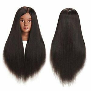 Traininghead 26 28 Synthetic Hair Mannequin Head Hair Styling 1711by0220