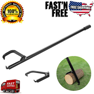 49 In Cant Hook Log Tool With Steel Handle Logging Logger Rolling Turning Tool