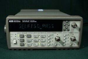 Hp 53131a 225mhz Universal Counter With 3 Channel And Others Must Read