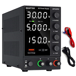 Dc Power Supply Variable Adjustable Switching Bench Power Supply 0 30 V 0 5 A