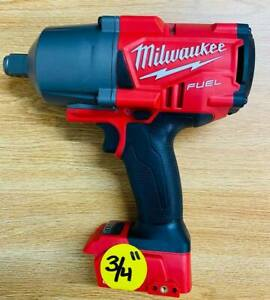Milwaukee M18 Fuel 3 4 Inch Impact Wrench 2864 20 Tool Only Open Box