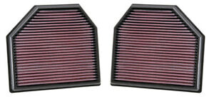 K Amp N Replacement Air Filter For 11 14 Bmw M5 M6 4 4l V8 2015 M4 M3 3 0l I6