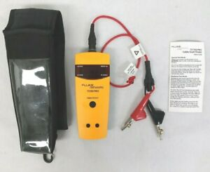 Fluke Networks Ts100 Pro Cable Fault Finder W Cables And Case 10985