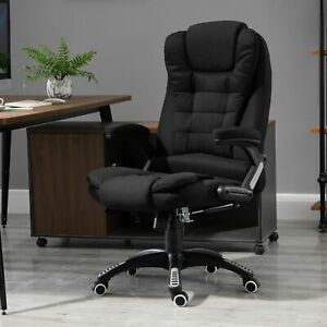 Vinsetto Executive Office Chair High Back Massage Chair Height Adjustable