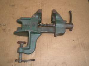 Vintage Littlestown Clamp On Bench Vise 2 1 2 Jaws
