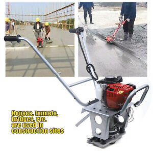 Cement Vibrating Machine Concrete Power Screed 4 Stroke 900w without Ruler Usa