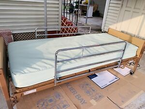 Hospital Bed Semi electric Home Care Bed With Mattress And Side Rails Great Con