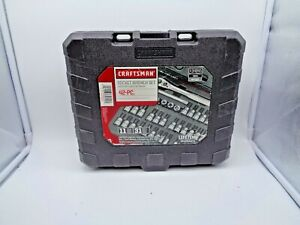 Craftsman 42 Pieces Drive Bit Socket Set Sae And Metric 34845 Case Only