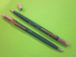 2ea Wearever 0 9mm Turquoise Mechanical Pencils With Eraser spirit Of 76