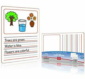 Dry Erase Story Picture Lap Board 9 x12 L Drawing Spelling Story Board