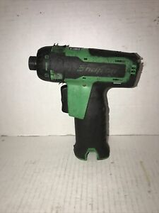 Snap On Cordless Drill Driver Screwdriver 14 4v Cts761g Works Perfectly