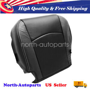 Driver Side Bottom Perforated Leather Seat Cover For 09 12 Dodge Ram Laramie Us
