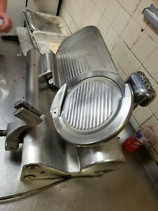 Globe 770 Commercial Automatic Meat Slicer Works But Missing Handle And Tray