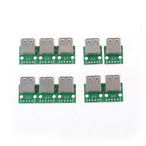 10x Type A Usb 2 0 To Dip 4p 2 54mm Pcb Board Adapter Converter For Arduino Bh