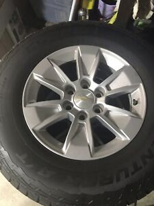 Chevrolet 2019 Truck Suv 17 Alloy Wheels And Tires