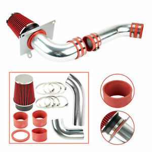 Cold Air Intake Kit For Ford Mustang 1989 1993 Gt Lx 5 0l V8 Red