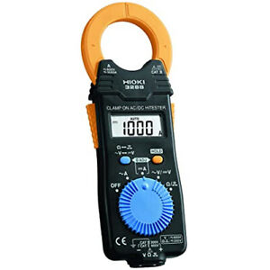 Hioki 3288 Clamp On Ac dc Hitester Compact Easy One Touch Tester Meter 1000a