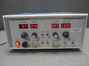 Colby Instruments Pulse Generator Pg 5000a