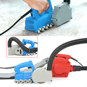 2 In 1 Commercial Tile Cement Floor Cleaner Electric Tile Seam Cleaning Machine
