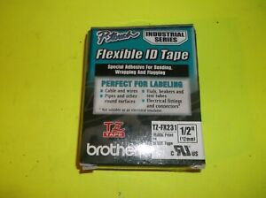 Genuine Brother P touch Tz fx231 Flexible Id Tape