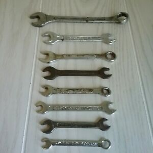 Wrench Lot 8 Total Craftsman Mercedes Toyota