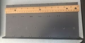 Large Black Anodized Aluminum Finned Heat Sink 12 Inch