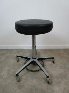 Used Biofit Adjustable Rolling Doctors Dentists Medical Office Stool Chair