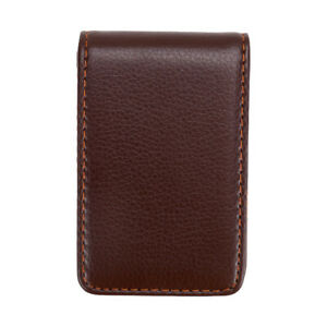Leather Business Cards Holder Case Organizer Name Id Credit Card Book Keeper T h
