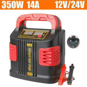 12v 24v Heavy Duty Smart Car Battery Charger Pulse Repair 3 Stage Charging Tool