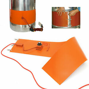 1500w Silicone Heating Belt For Barrel Customizable Diy Size Rubber Drum Heater