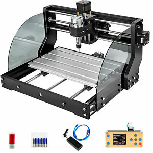 Cnc 3018 Pro Max 10000rpm Woodworking Engraving 3 Axis Rgbl offline Control Us