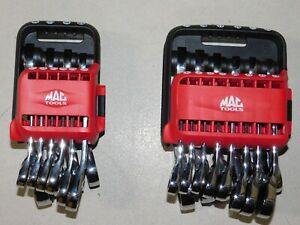 Mac Tools Stubby Ratcheting Wrench Sets Eb52