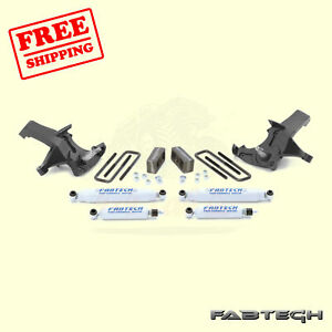 4 Spindle Syst W Shocks For 1988 91 Gm C1500 Standard Cab 2wd Fabtech